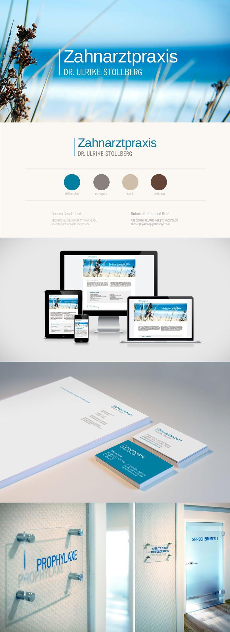 Responsive Webdesign // Corporate Identity - Zitronengrau GbR Leipzig