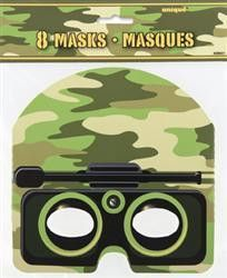 Camo Masks | Army Party Theme and Supplies