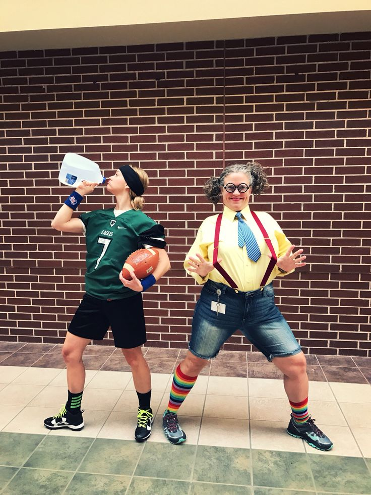 Athlete vs Mathlete (Nerd) Costume Theme Day