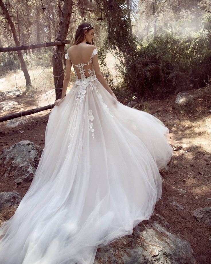 Romantic fairytale dress by  #GALA_902. New #GALA #bridal campaign.