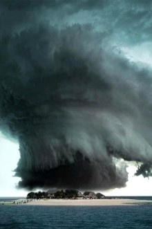 Incredible storm, The Bermuda Triangle
