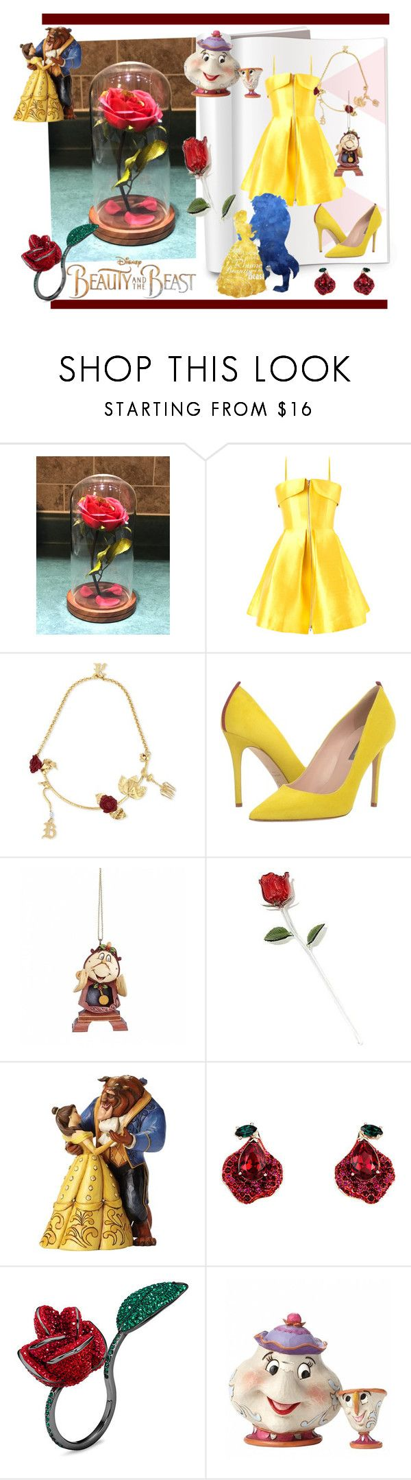 """""""Beauty and the beast"""" by samy-lady on Polyvore featuring moda, Disney, Alex Perry, Christopher Kane, SJP, BeautyandtheBeast y contestentry"""