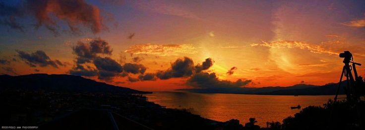 Sunset at Ambon City...