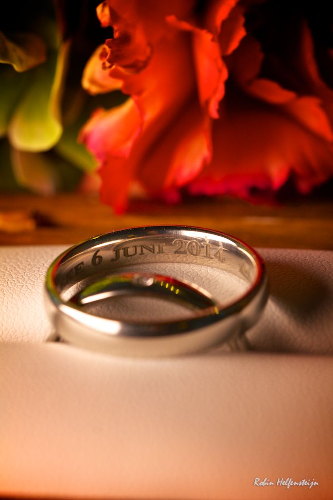 Our wedding rings - 6/6/14 Credits: Robin Helfensteijn
