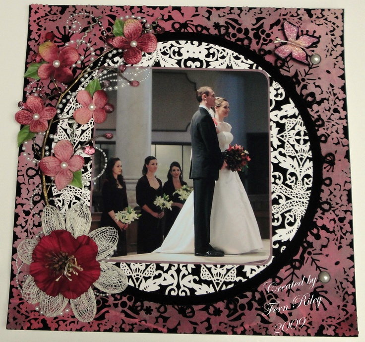 104 best Wedding Scrapbook images on Pinterest | Scrapbook layouts ...