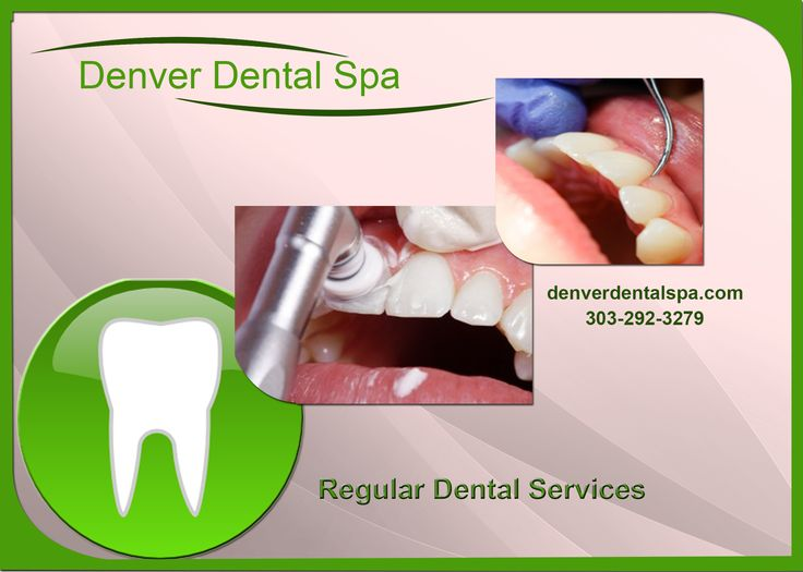 Denver dental spa provides the services like dental cleaning, teeth whitening, patient education about their dental problems, root planning and more. With free whitening kits and trays.