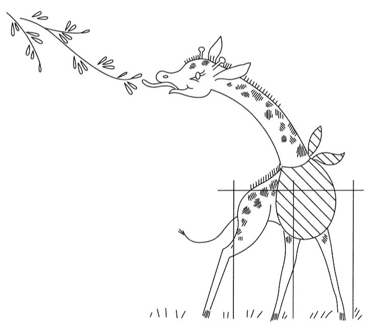 Vogart Childrens - giraffe: Embroidery Vintage Pattern, Embroidery Pattern, Embroidery Crosses Stitches, Embroidery Appliques Pattern, Baby Giraffes, Vintage Spices, Bordado Appliques, Embroidery Appliqué Pattern, Animal