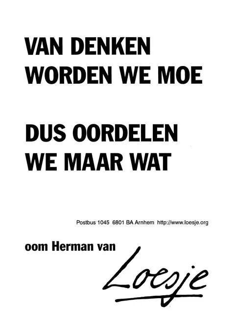 Scherp! #Loesje
