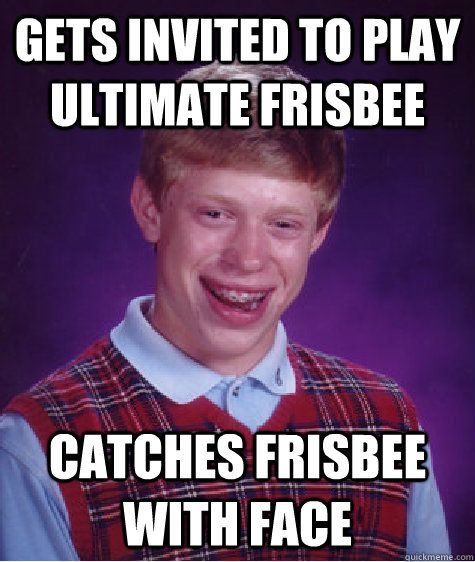 Image result for funny ultimate frisbee memes