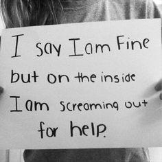depression quotes for guys | Self-Harm Quotes Tumblr | depression suicide self harm ...