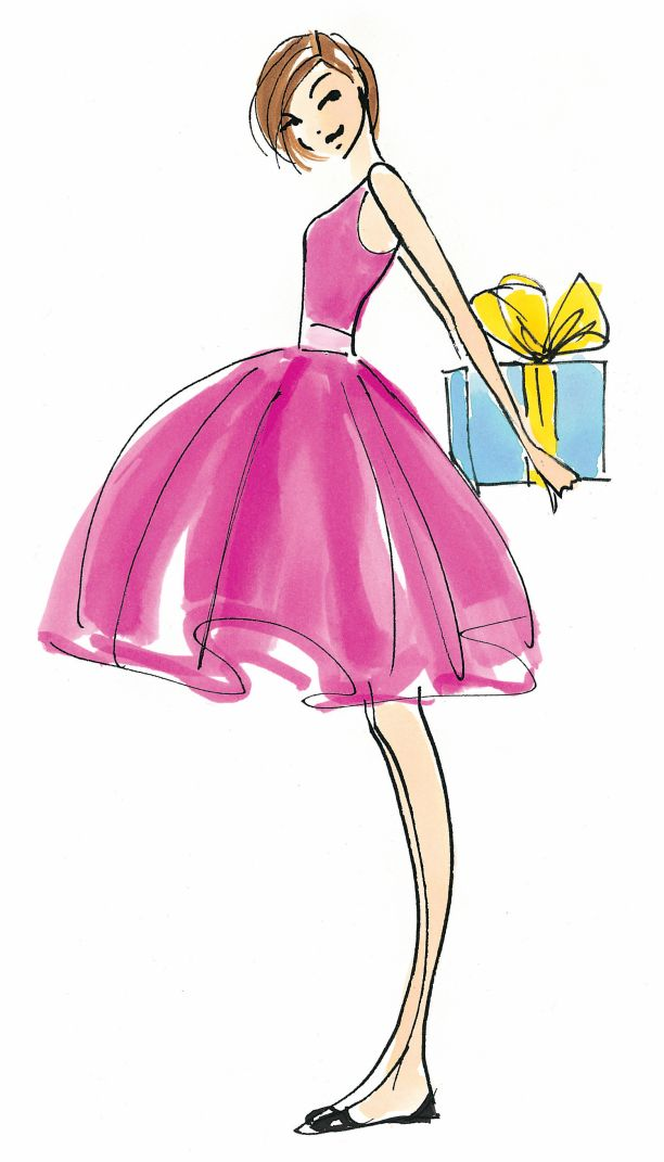 Happy Birthday Girl Illustration ~ The hundred dresses authors on styles every girl needs in her closet o jays