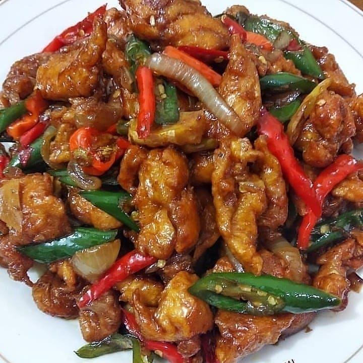 Jangan Lupa Tap Yaah Resep Tumis Ayam Fillet Made By Ucipadmi Bahan2 500 Gr Fillet Ayam Potong2 Cu Resep Masakan Masakan Resep Ayam