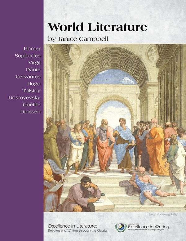 Teaching resource:  World Literature, by Janice Campbell- English V- Excellence in Literature