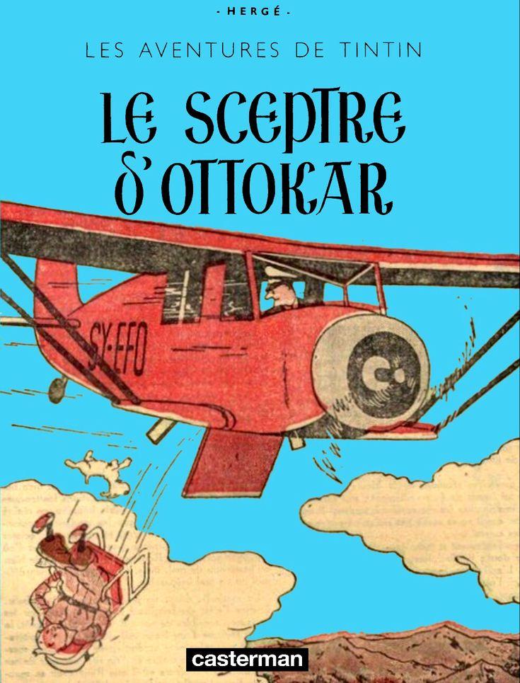 Tintin - Pastiches, parodies & pirates -PIR- Tintin et les oranges bleues (version couleur)