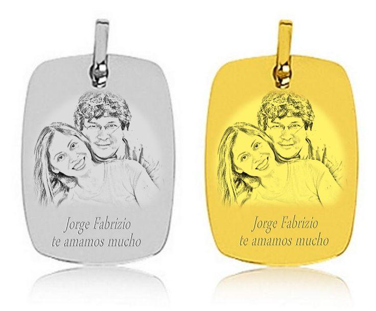 Mamá y Papá en medallas de oro y plata