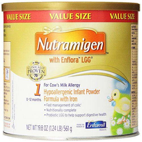 Nutramigen with Enflora LGG, For Cow's Milk Allergy, 19.8 Oz (Pack of 4)  http://www.personalcareclub.com/nutramigen-with-enflora-lgg-for-cows-milk-allergy-19-8-oz-pack-of-4/