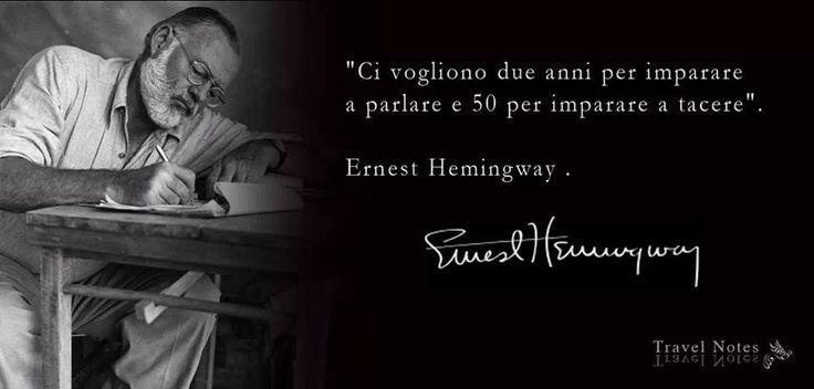 Ernest Hemingway. Travel Notes di Silvia Pluda.