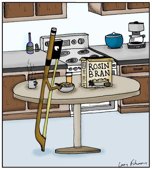"Rosin Bran...      - ""Humoresque"" cartoon #607 by Loren Fishman"