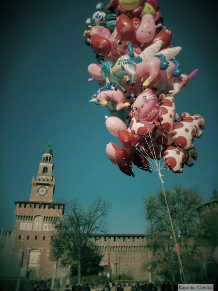 Milão, Itália.  #baloes #balloons #milao #italia #milan #italy