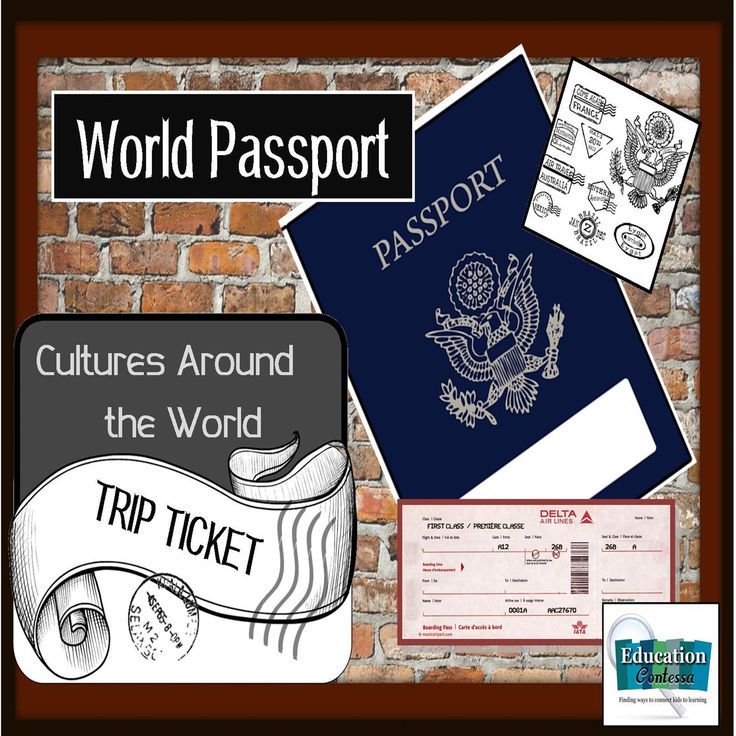 25+ ide terbaik Passport template di Pinterest - food ticket template