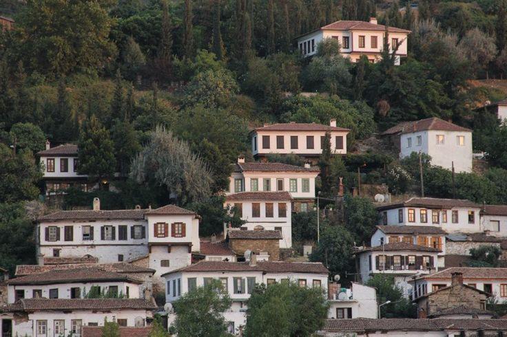 Houses in Şirince