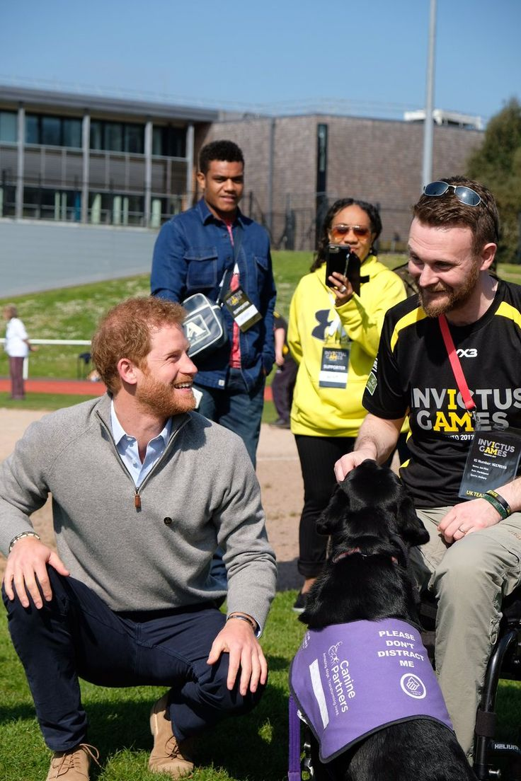 Prince Harry visited the University of Bath to watch trials for the Invictus Games 2017 and learn more about the university's research into recovery after sports injuries. Prince Harry visite…