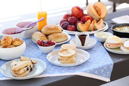 Brunch by cuinaperllaminers, via Flickr. #diadelamadre