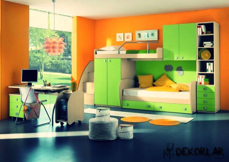 Çocuk Odası Dekorasyon Fikirleri   Dekorlar.com