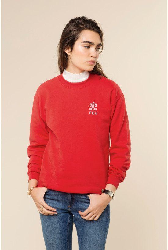 Rad | Sweater Feu - Rad x Nekfeu
