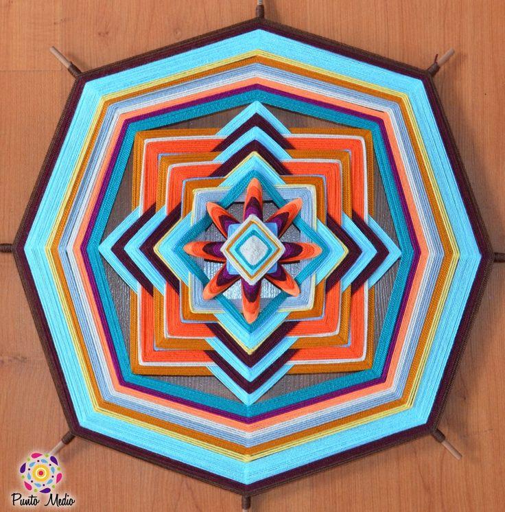 Mandala energía mental.  45cm. www.facebook.com/Ptomedio
