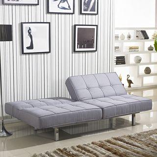 salvador grey tufted sleeper sofa bed - Grey Tufted Sofa