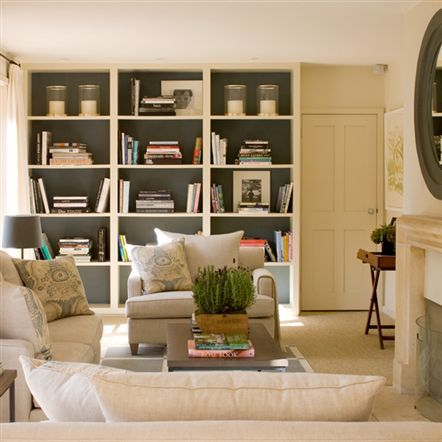 living | built-ins | helen green via desiretoinspire