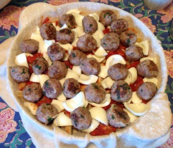 Timpano Pasta Cake Recipe