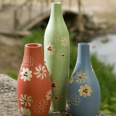 Kanoa Carved Wood Vases – Set of 3Design Favorite, Crafts Ideas, Carvings Wood, Favorite Things, Earth Friends, Sets Shots, Lakeside Design, Kanoa Carvings, Shots Ideas