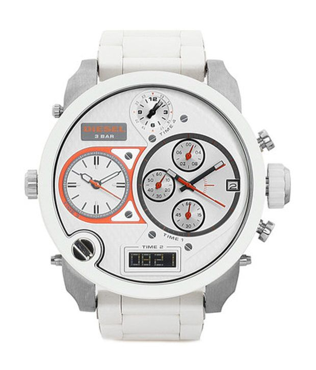 259a4b400abb Diesel Analog-Digital White Dial Men s Watch DZ7277