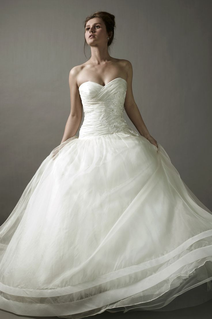 Dress for party wedding   best Wedding Dresses images on Pinterest  Bridal gowns Wedding