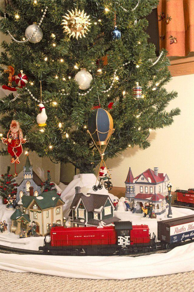 Trains Around The Christmas Tree Part - 46: Exceptional Best Train Set For Under The Christmas Tree Part - 12: Christmas  Tree +