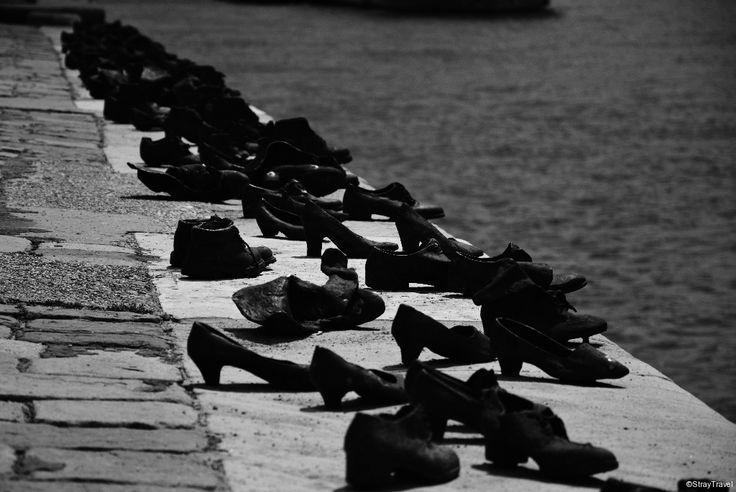 Jewish shoes memorial on Duna #budapest