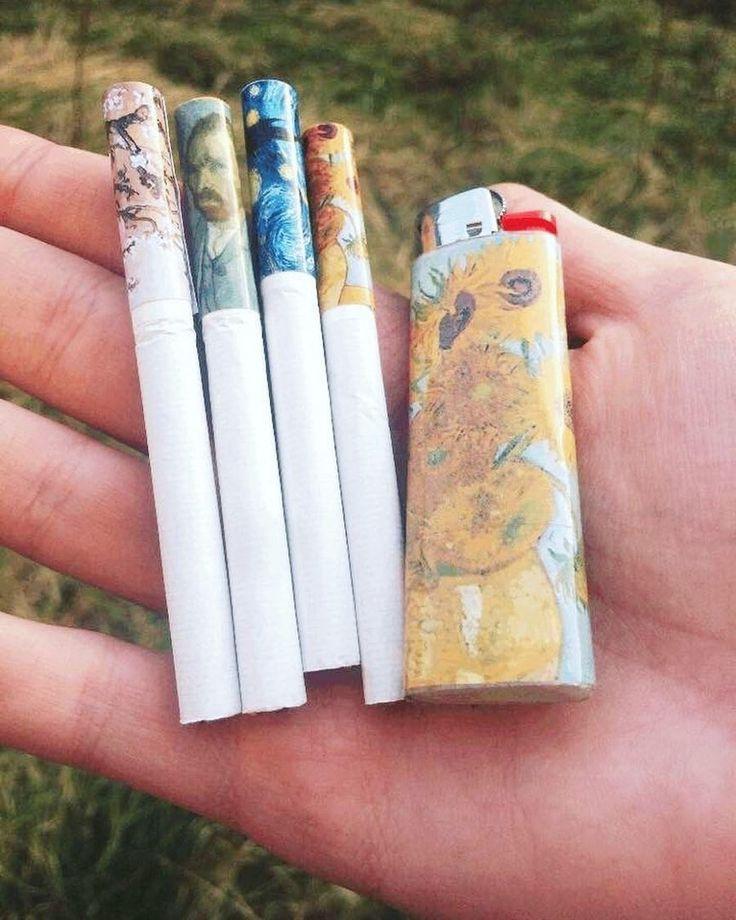 рисунки на сигаретах родственники