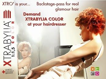 Xtrabylia Color il #pass per avere capelli #glamour Chiedi al tuo parrucchiere di fiducia il trattamento di pigmentazione cosmetica tricologica #XtrabyliaColor per capelli sempre alla moda come te