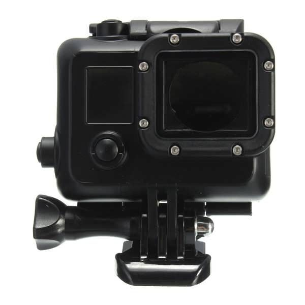 Underwater Waterproof Dive Stand Housing Case For Gopro Hero 3 3 Plus 4 Black  Worldwide delivery. Original best quality product for 70% of it's real price. Buying this product is extra profitable, because we have good production source. 1 day products dispatch from warehouse. Fast &...