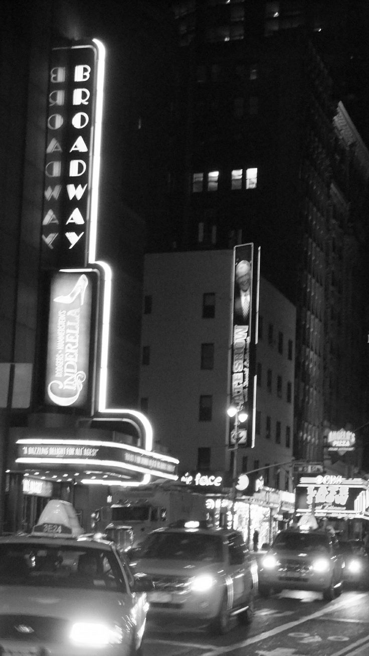 Broadway. New York. USA