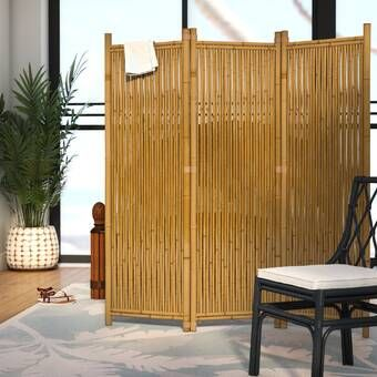 Versare Wicker Outdoor Panel Room Divider Amp Reviews
