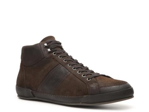 Santoni Distressed Suede Sneaker. #DSW, #LUXE810