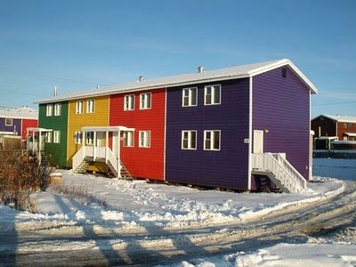 Ultima Thule: Inuvik on the Mackenzie delta, Northwest Territories (NWT) of Canada