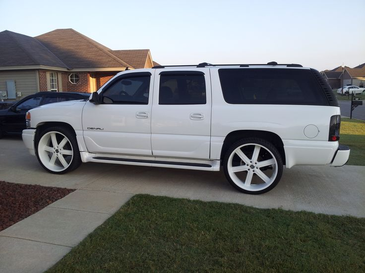 2007 Chevrolet Tahoe Ltz >> 2004 white custom yukon xl - Google Search | Yukon denali, Chevy yukon, Chevy tahoe ltz