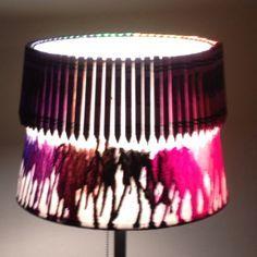 Lampshade art