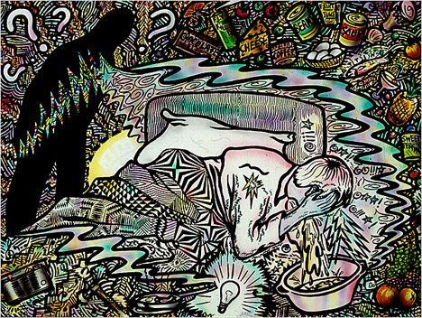 Image Odyssey: Migraine Art | SheWalksSoftly