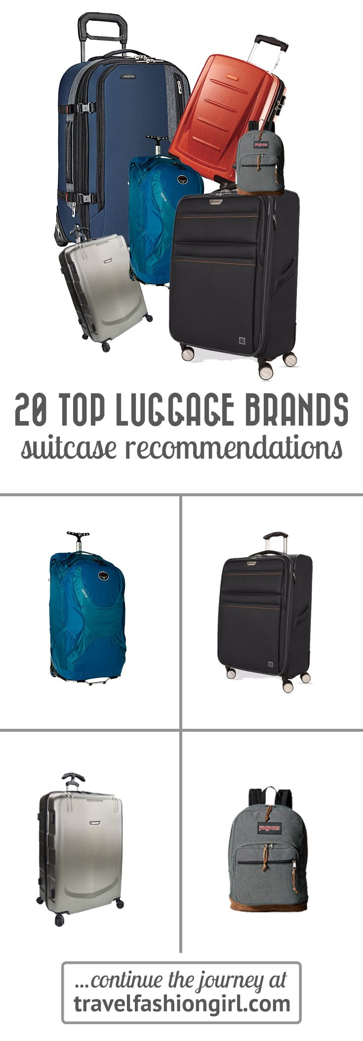 17 Best ideas about Luggage Brands on Pinterest | Best luggage ...