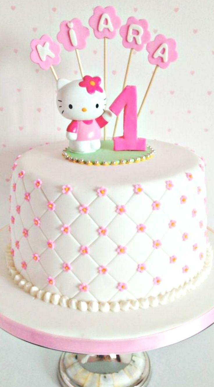 Tartas de cumpleaños - Birthday Cake - Hello Kitty Cake